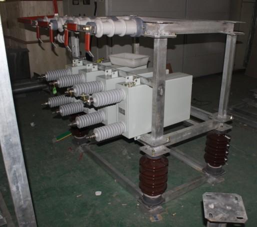 35kv并联电容器接线现场接线